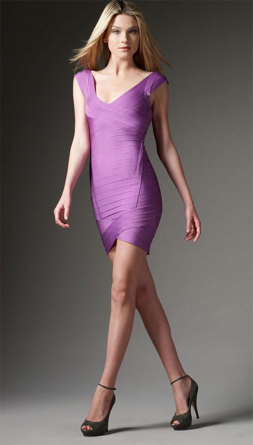 pastel colored mini dress