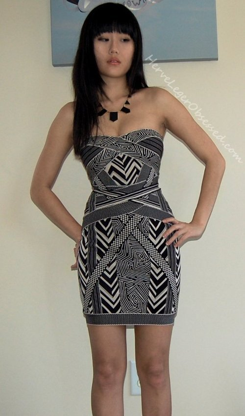 dress strapless mini