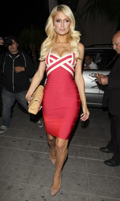 More Celebrities Wearing Herve Leger Bandage Dresses