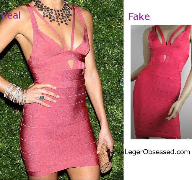 Herve Leger Look Alike Dress