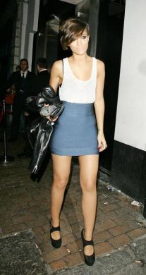Gorgeous china blue mini bandage skirt
