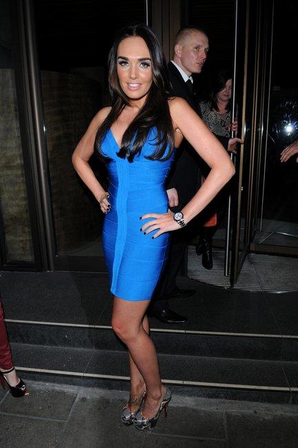 Tamara blue Herve Leger