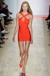 Herve Leger front cross dress