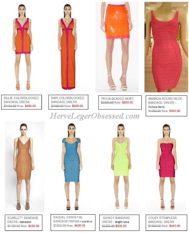 deep discount clearance Herve Leger