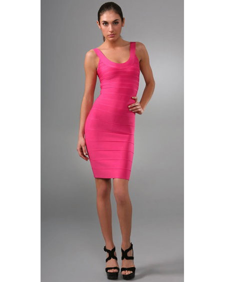 Images of Tight Pink Dress - Reikian