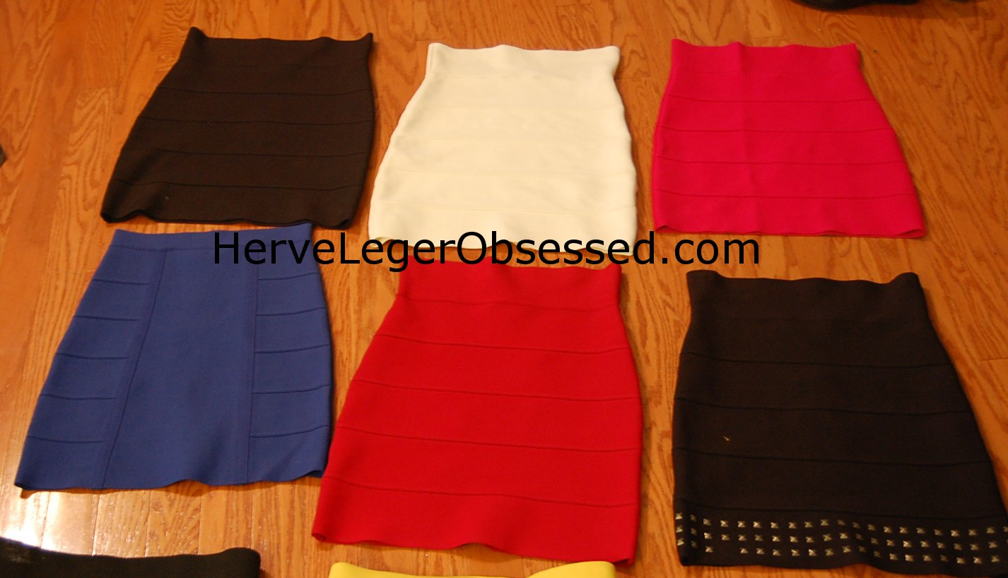 bef51b594 My Bandage Skirt Collection, Pleasure Doing Business vs. BCBG Power ...
